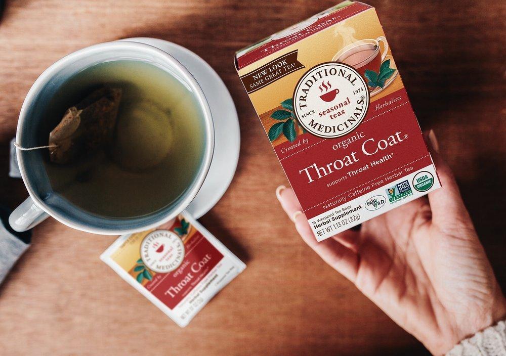 Organic Throat Coat tea