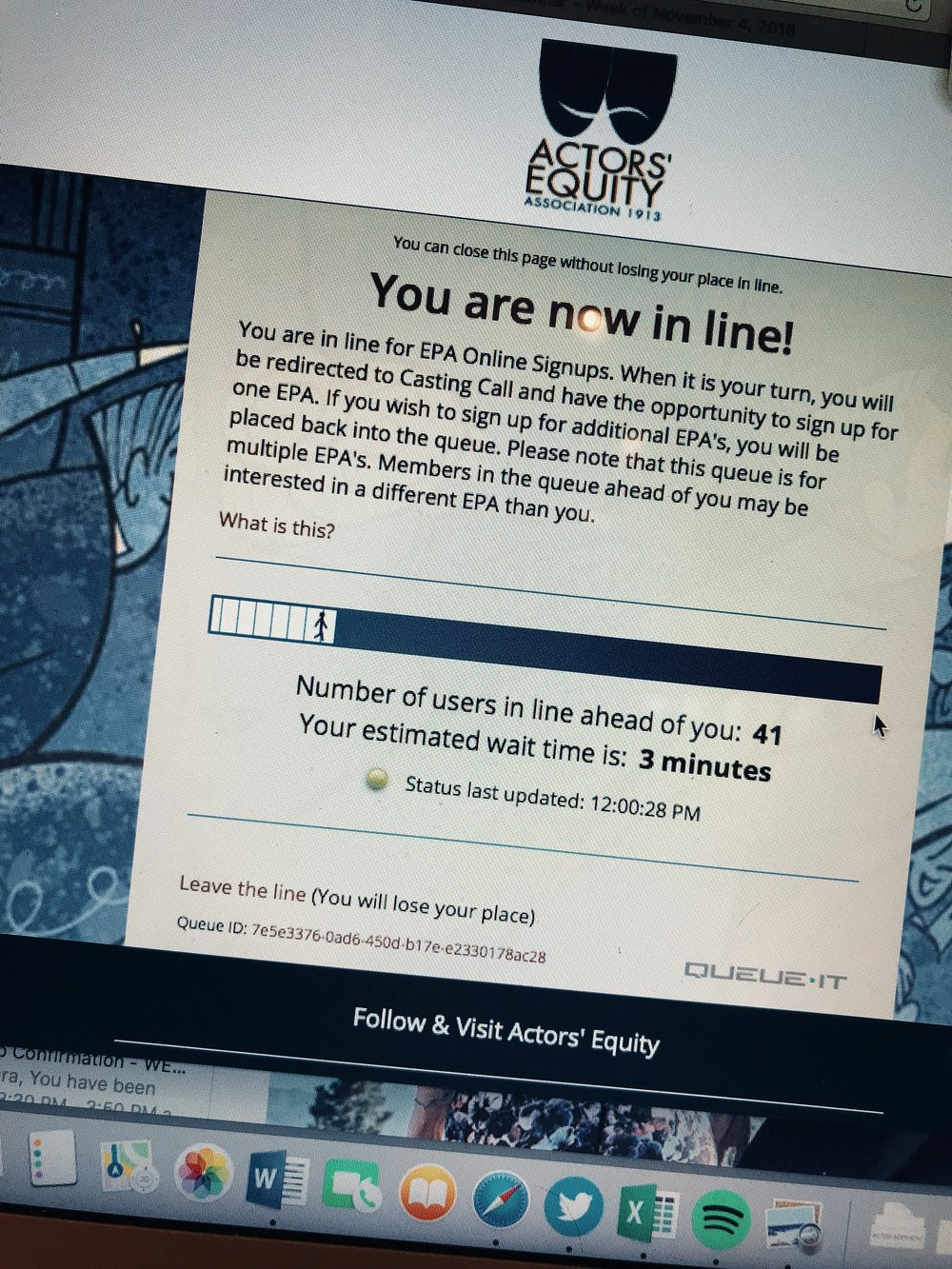 6 Steps to Sign Up Online for Equity Principal Auditions
