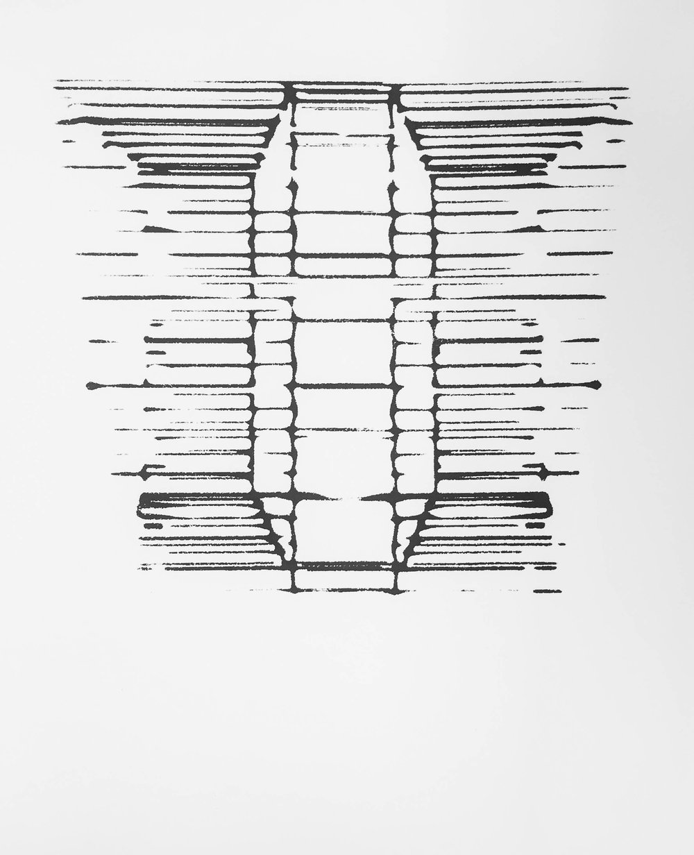 - Algorithm Inkblot IV, serigraph
