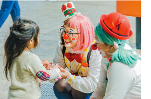 毎年開催され、観客動員数150万人を誇る「大道芸ワールドカップ in 静岡」など、親子で堪能できる催しが多数開催されている