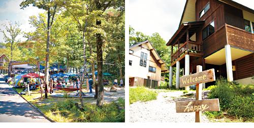 アウトドア好きの家族には、郡上市高鷲町内にある、親子キャンプが楽しめる「Ork ひるがの」がおすすめ。キャンプだけでなく、釣り堀、オープンカフェなどもあり、宿泊も可能なため(要予約)、親子で一日中楽しめる。自然とふれあうプロジェクトが今後、ますます増える予定