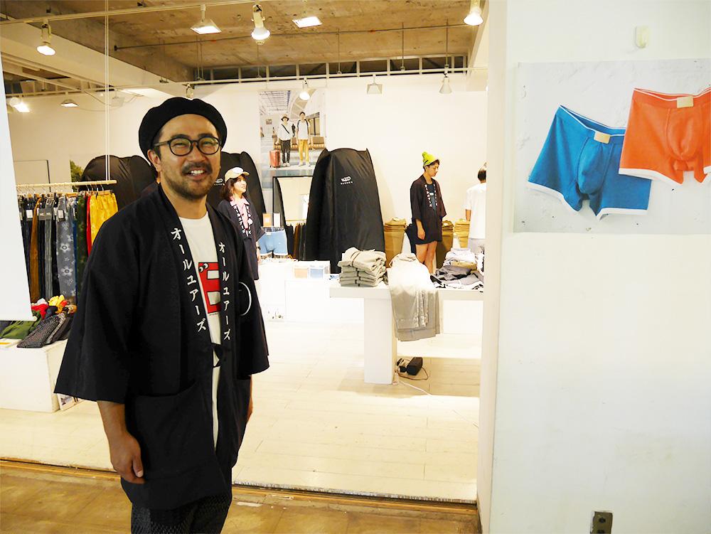 主催者の「ALL YOURS」の木村さん。ご本人もやってることもめちゃ素敵なのでチェックしてください!(   https://allyours.jp/ )
