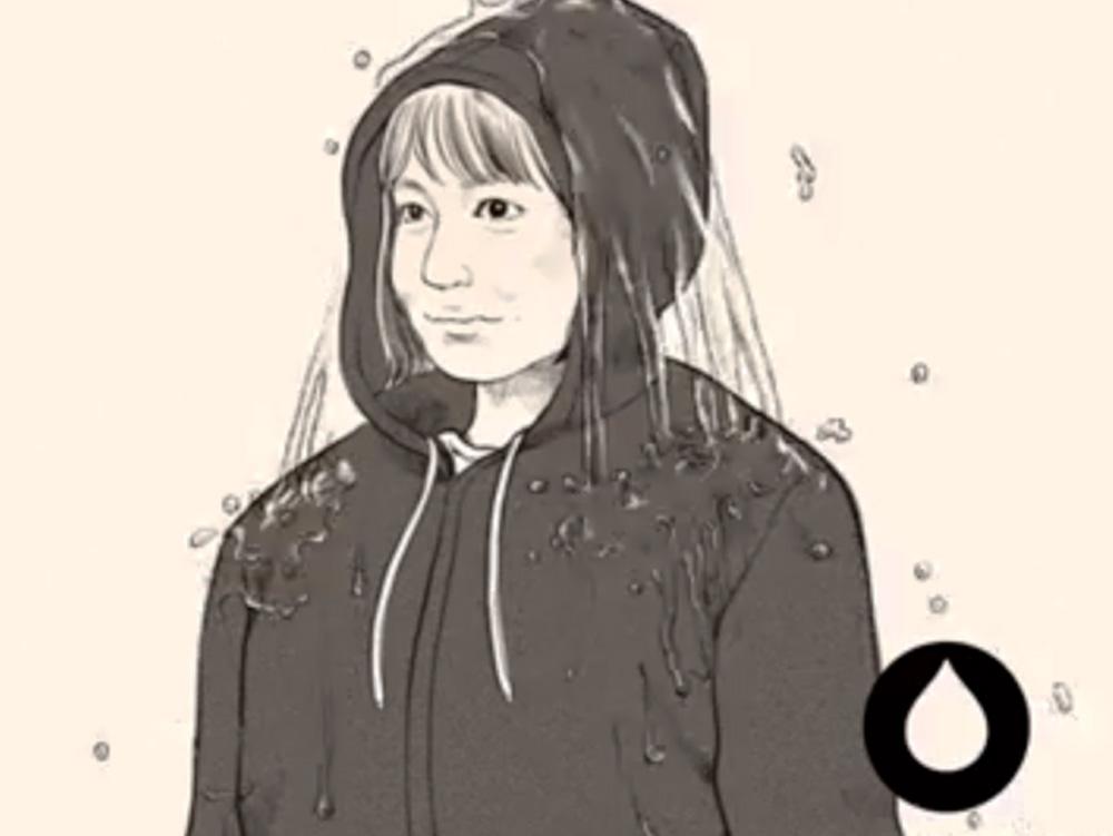 本物より10歳は若く描いてくれたとっても優しいmarie watanabeさん( https://www.marie-illustration.com/ )
