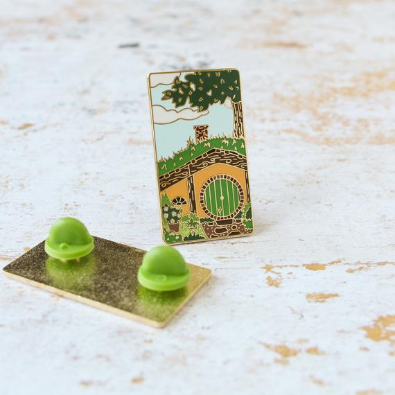 dust and pages - enamel pin hobbit.jpg