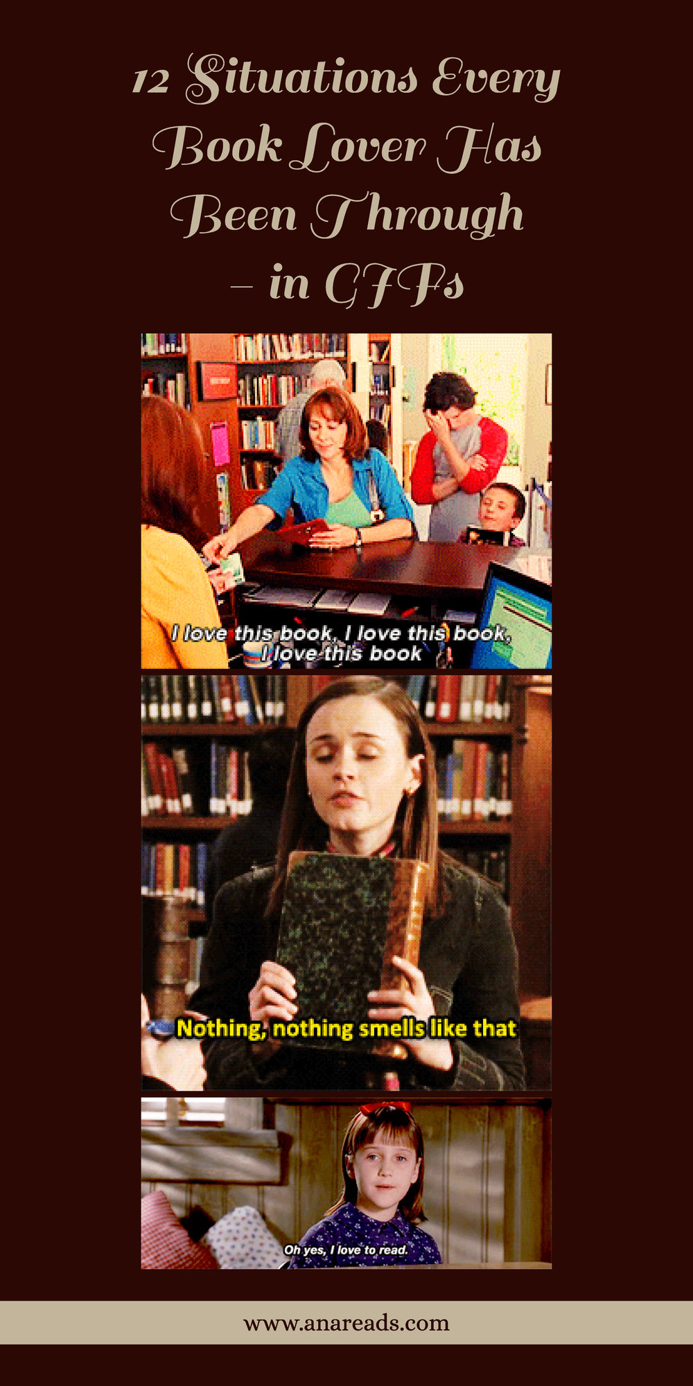 12 situations every book lover has been through - in gifs