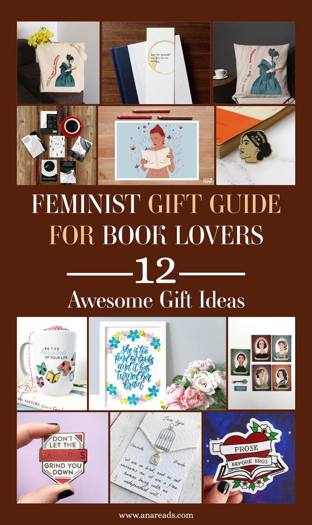 gift guide for feminist book lovers