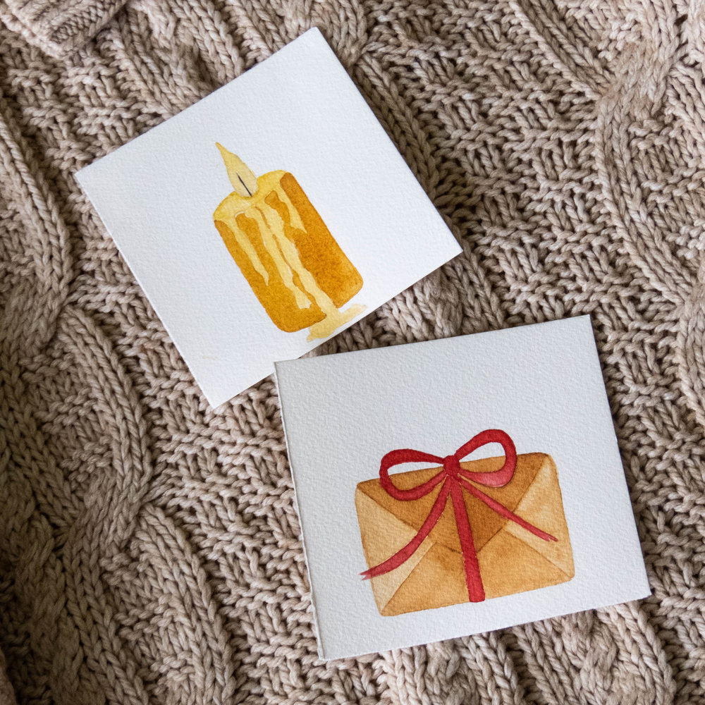 snail mail candle watercolor illustration winter favorites-6.jpg