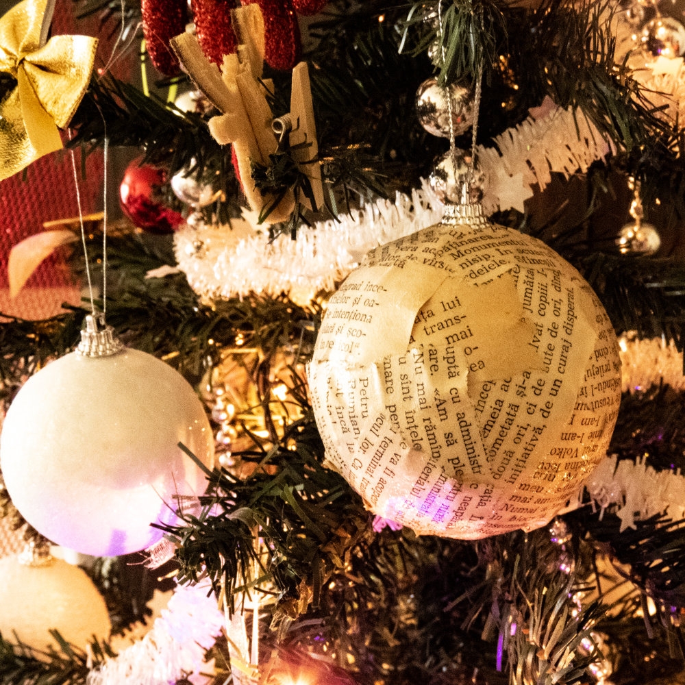 diy bauble for the christmas tree