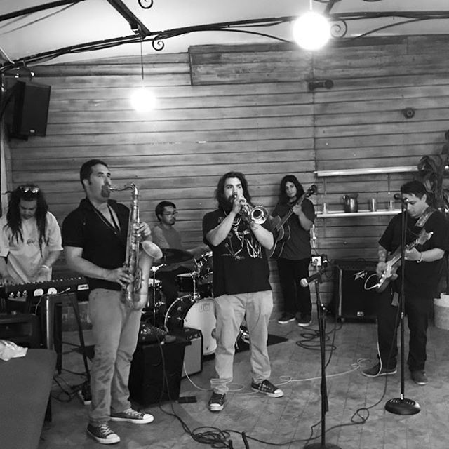 In our element! @herbalrootz #westcoast #la #sax #guitar #trumpet #saxophone #bass #keys #drums #jazz #music #soul #memes #guitar #meme #piano #drummer #tenor #trumpet #trombone #instagram #instagood #vibe #musician #theater #share #follow #followme #funk #blues #reggae