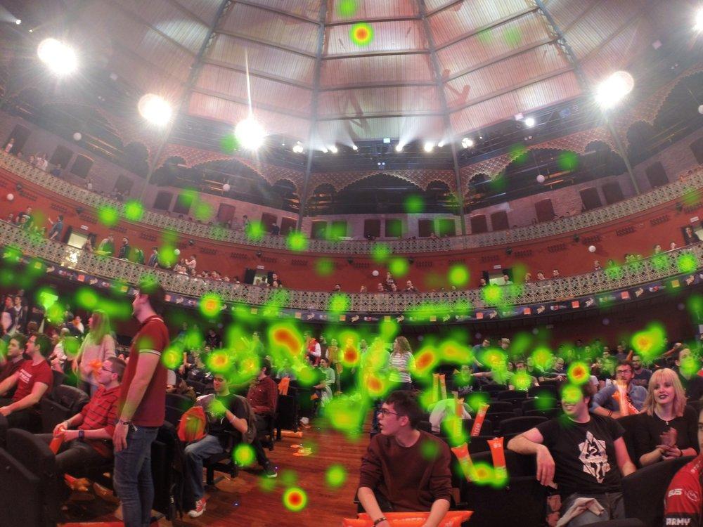 Prueba de las Eyetracker en el Teatro Circo de Murcia