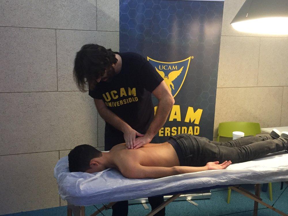En la foto: Jaime Lloret García, nuestro responsable en fisioterapia y salud.