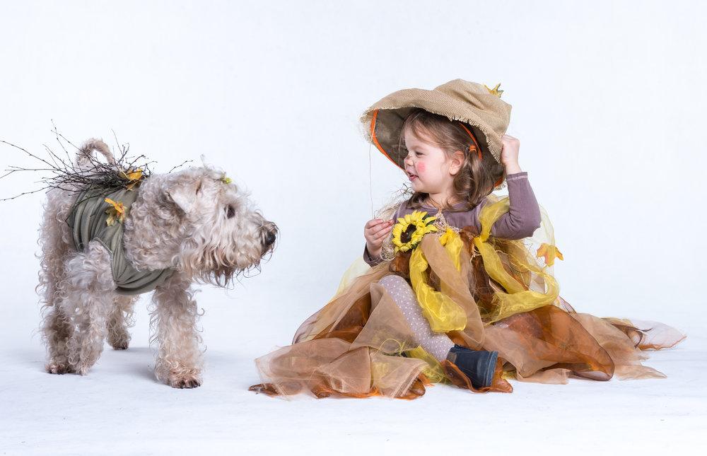 Kluska i Tosia - nasze dwie czarownice :)