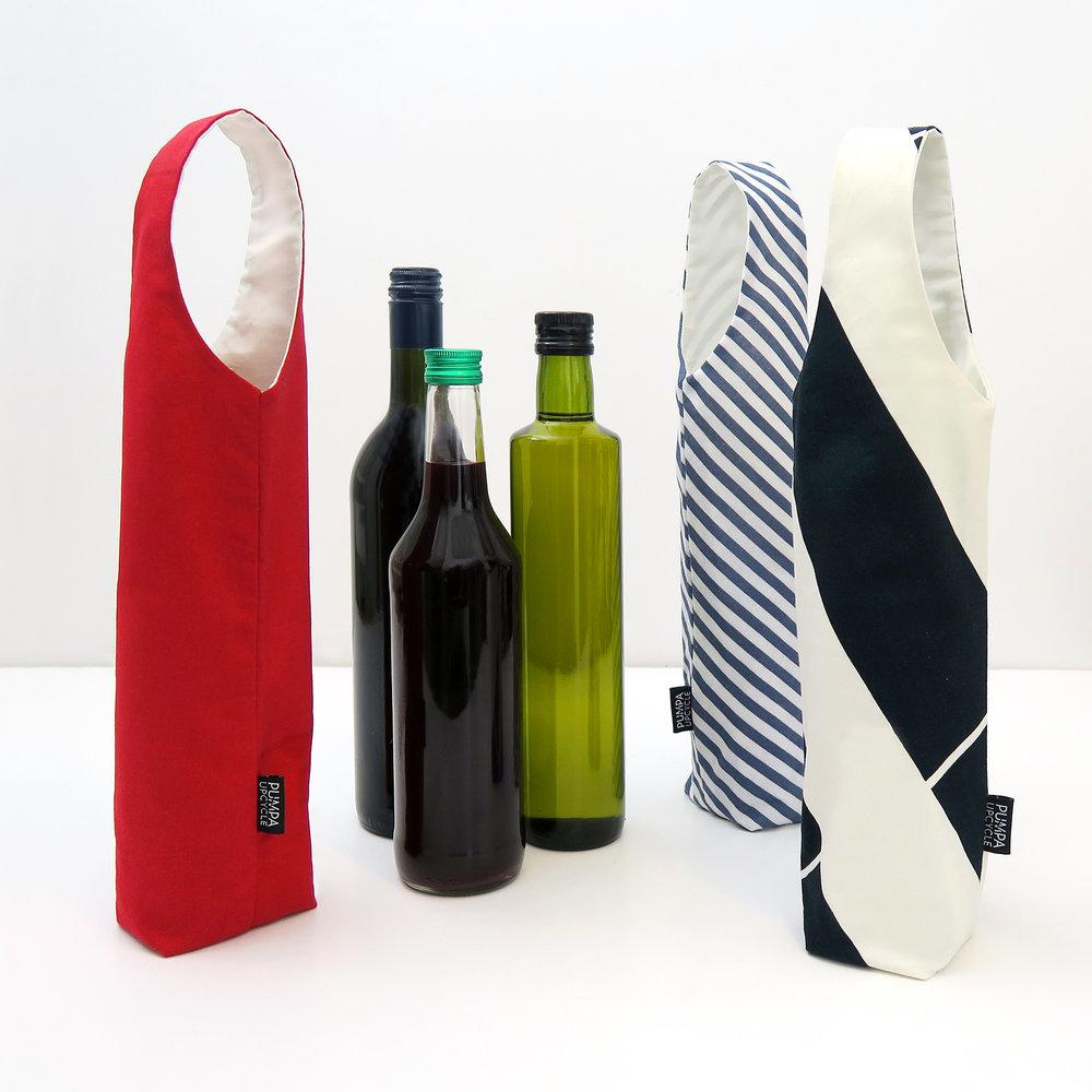 Pumpa Design - Kankainen lahja- / pullopussi