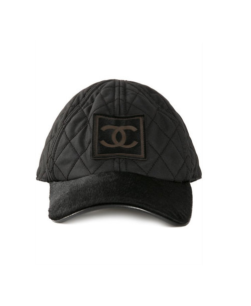 6acefb22000 Chanel Quilted Pony Hair Cap — High End Outlet
