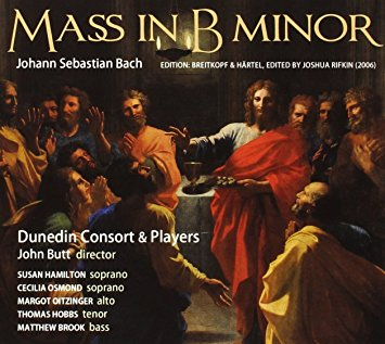 Johann Sebastian Bach: Mass in B minorDunedin Consort & Players / John ButTLinn, 2010 -