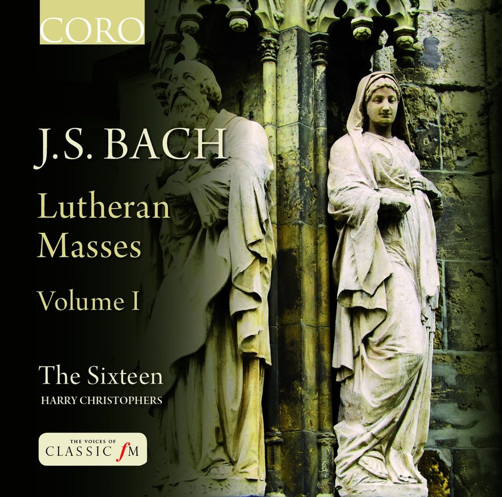 J.S.Bach Lutheran Masses: Vol. 1Inc. Mass in FThe Sixteen / Harry ChristophersCoro, 2012 -