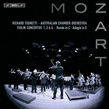 Mozart Violin Concertos 1, 2 & 4Richard Tognetti / Australian Chamber OrchestraBis, 2011 -