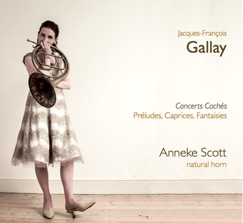 JACQUES-FRANÇOIS GALLAY: CONCERTS CACHÉS - PRÉLUDES, CAPRICES, FANTAISIES - The first in three discs featuring the works of Jacques-François Gallay.