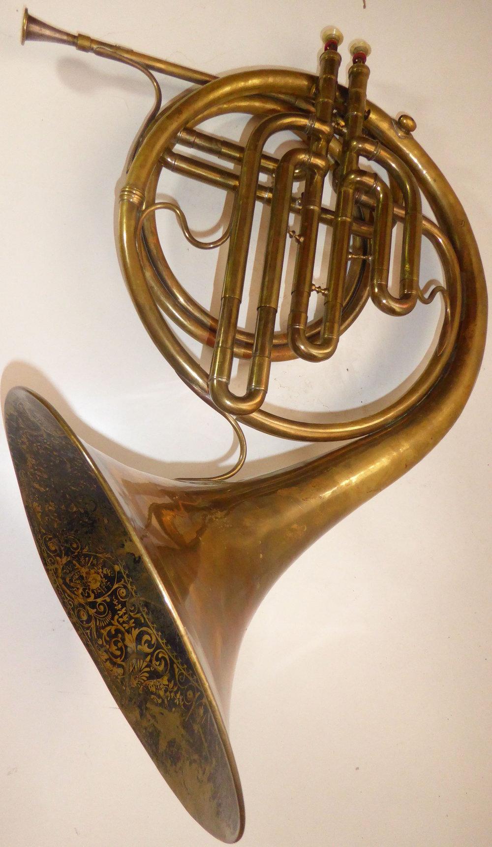 Guichard horn (collection Bruno Kampmann)