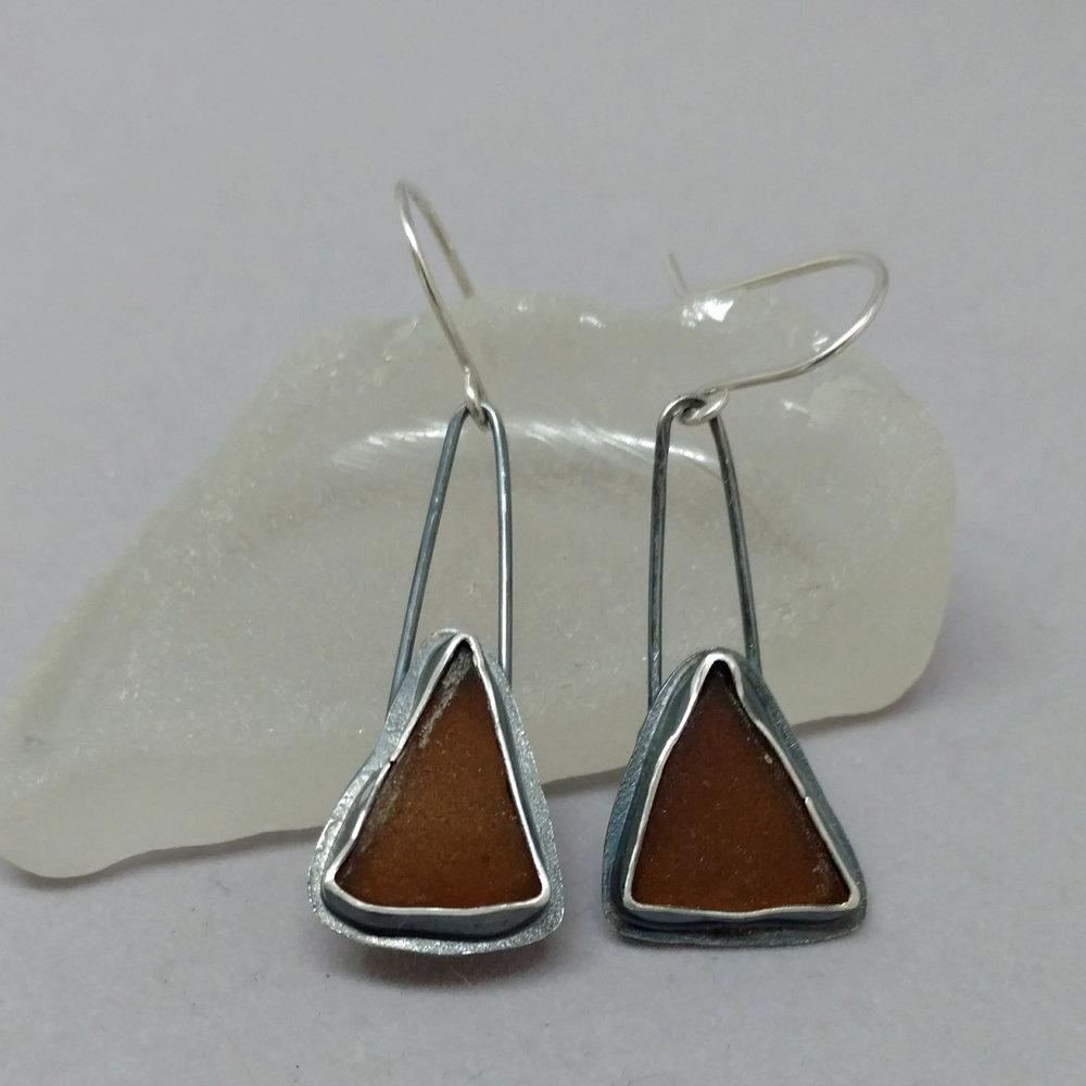 brown sea glass bezel earrings.jpg