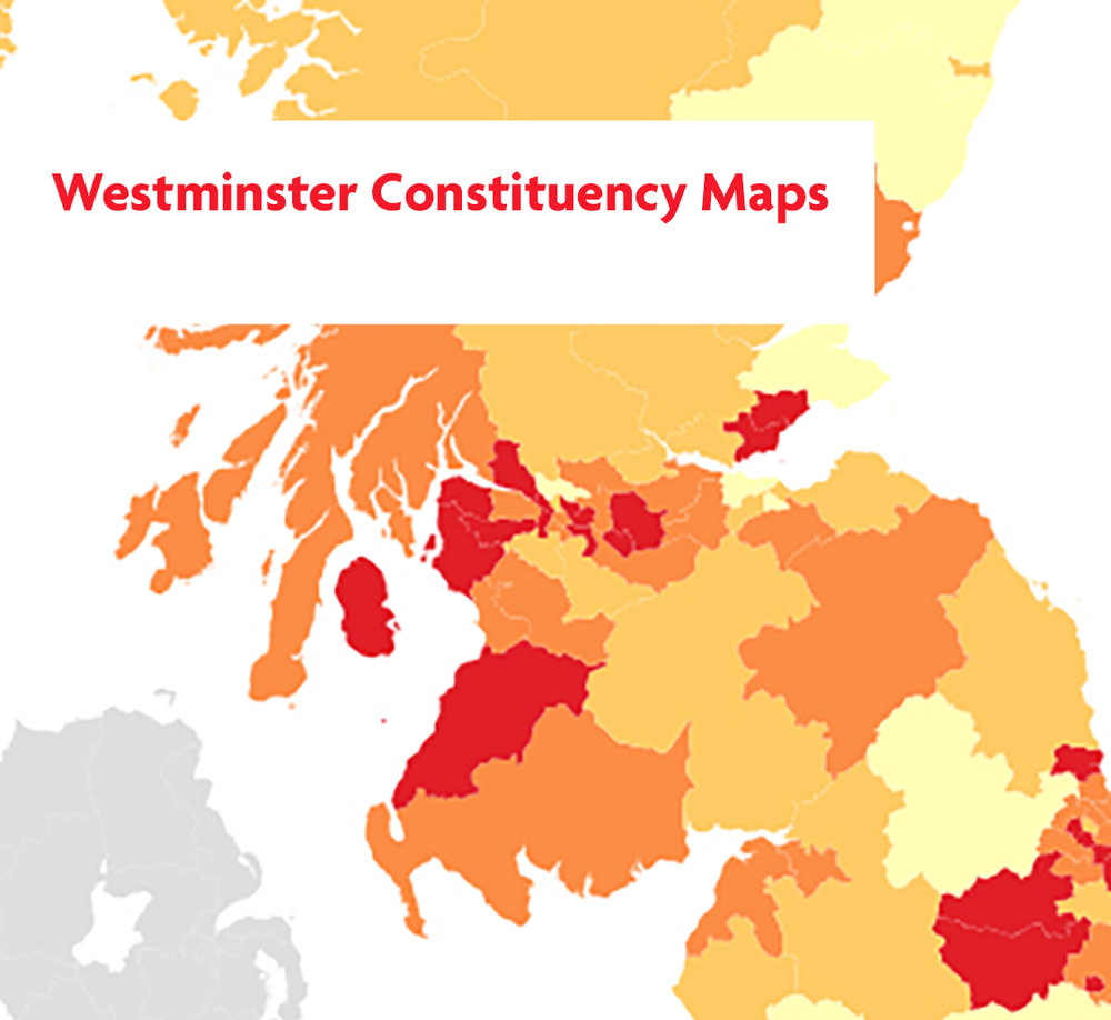 Westminster constituency maps