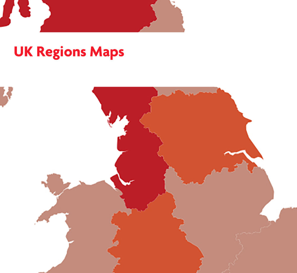 UK Regions Maps