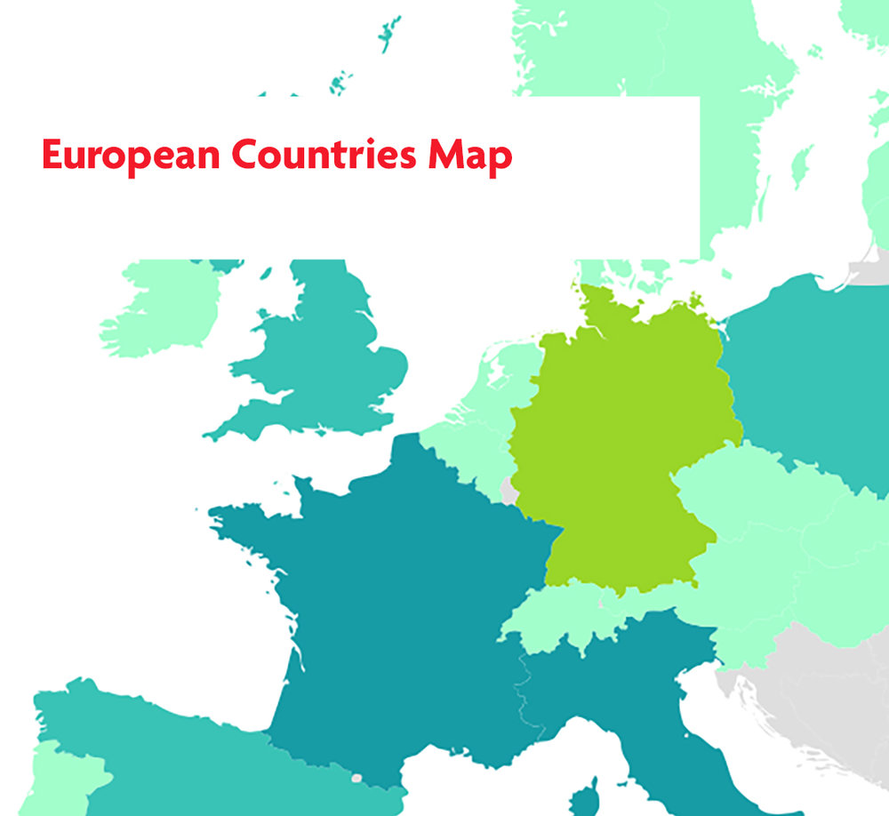 European Countries Map