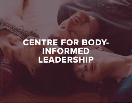 """- CBIL, our partner organisation, is a hub of pioneering insight, education and practice for using """"Somatic"""" tools to nourish and transform our group cultures from the inside-out."""