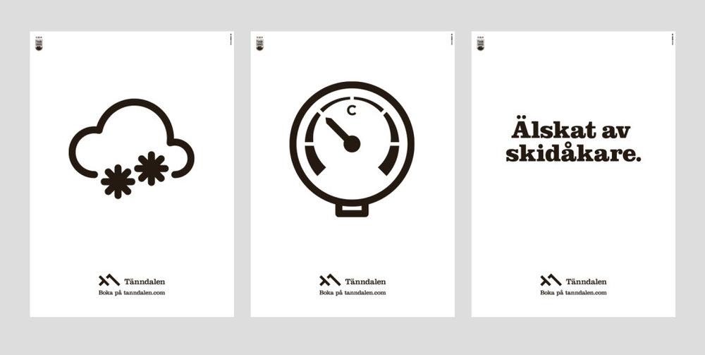 Printkampanj för Stockholms tunnelbana, trappor.
