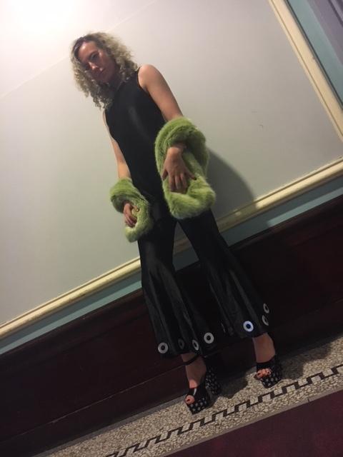 Hilary wears our Quatro Jumpsuit
