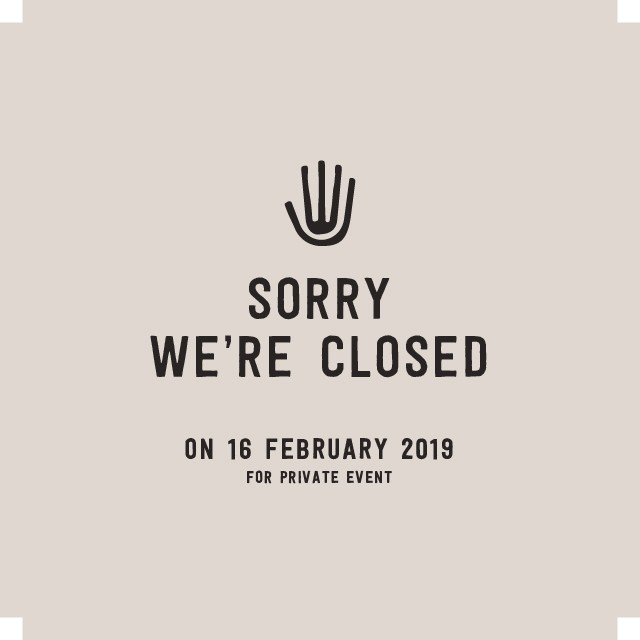 Hello! Tomorrow, Saturday, Feb 16th, our beach house will be closed due to a private event. See you on Sunday, Feb 17th when we are open as usual. Thank you for your understanding 🙏🏽