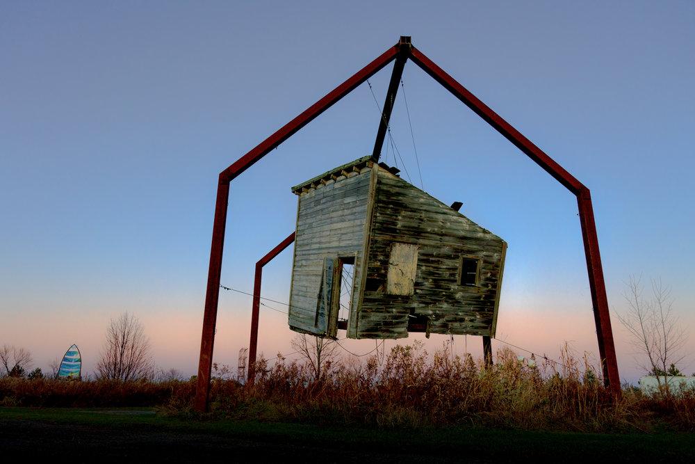 Reclamation by Melanie VanHouten, Franconia Sculpture Park, Shafer MN