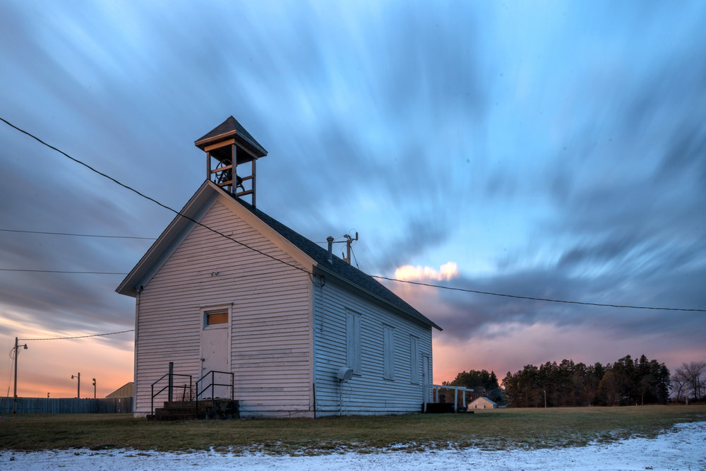 Church at Hubbard Fairgrounds, Park Rapids MN