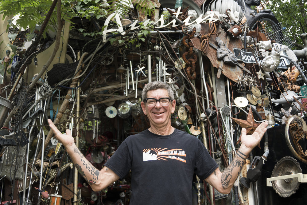 Vince Hannemann, Cathedral of Junk Austin, Texas