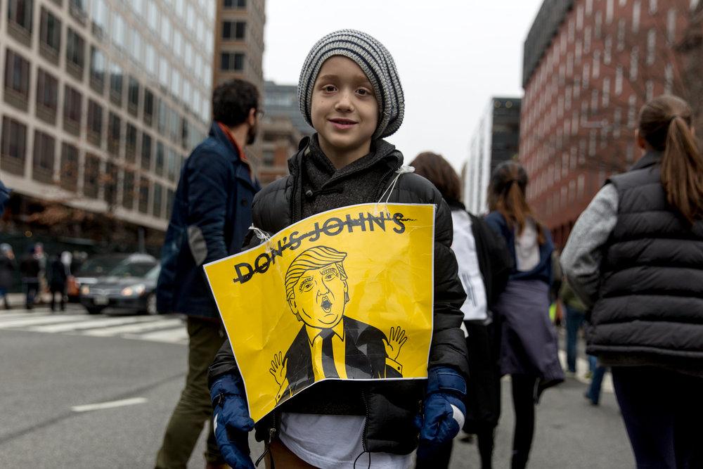 The Women's March, Washington DC 2016