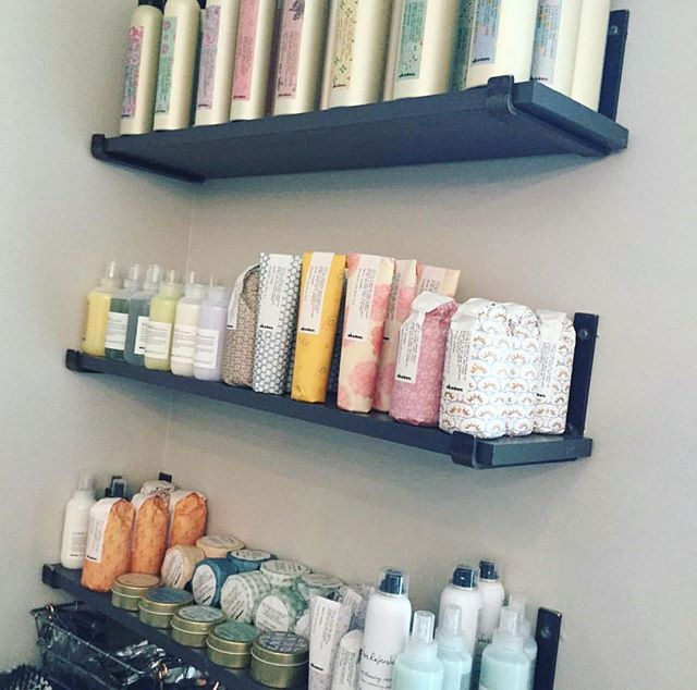 S H E L F I E // @hollypughherring @hairsmithandco is STOCKED with amazing @davinesofficial products! Come check them out! #cville #cvillesalon #davinessalon #bestofcville2018