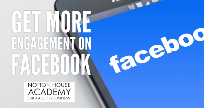 Get more engagement on Facebook when you share your blog posts!