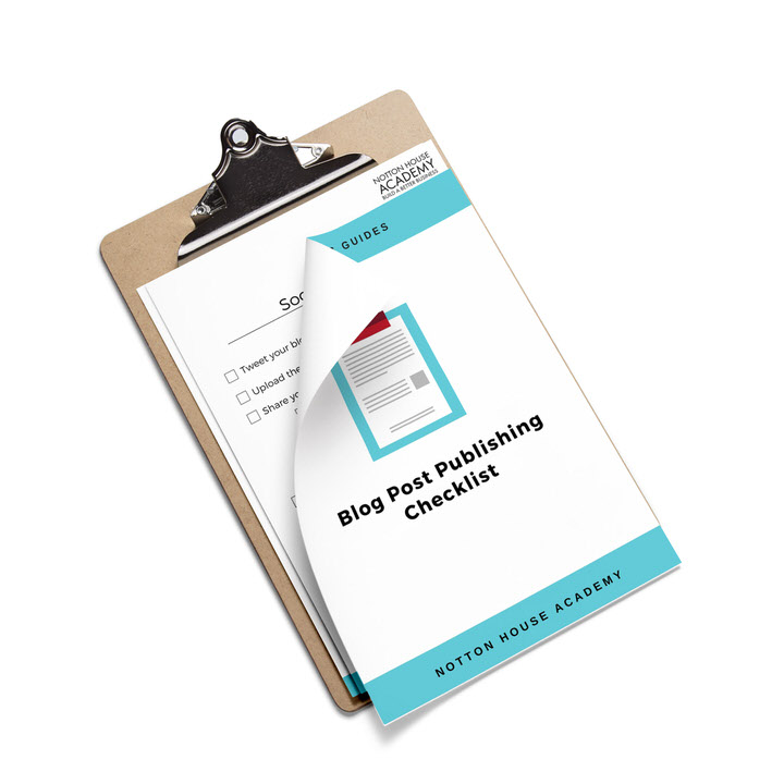 Blog Post Publishing Checklist -