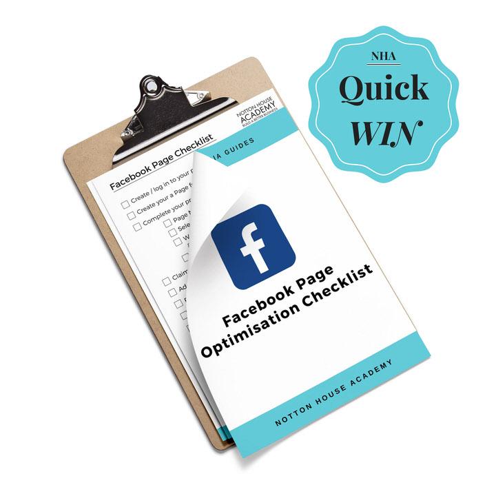 Facebook Page Checklist -