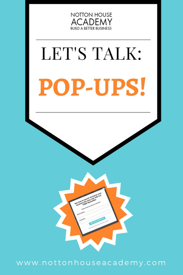 The pro's & cons of pop-ups in business - Are they good or bad?