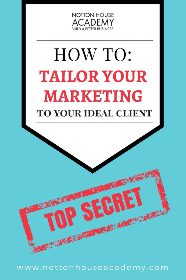 Think all your idea clients are exactly the same?  Think again!