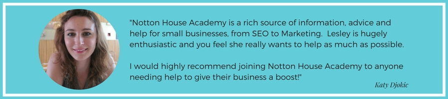 Notton House Academy is a rich source of information advice and help for small businesses, from seo to marketing.Lesley is hugely enthusiastic and you feel she really wants to help as much as possible.I would h (3).jpg