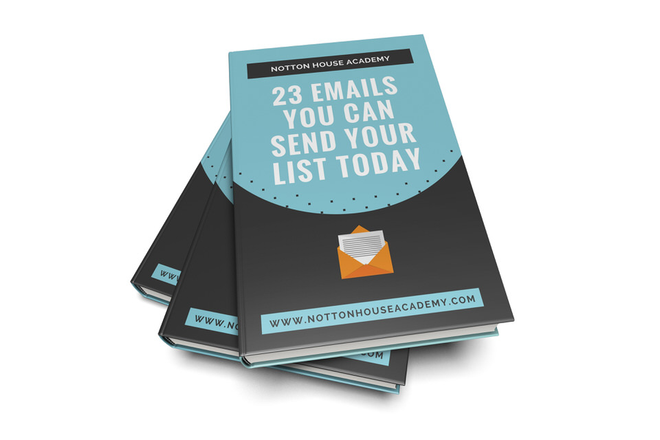 23 Emails You Can Send Today eBook -