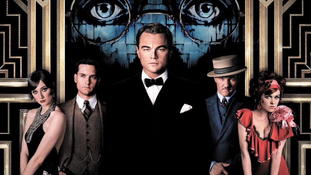 THE GREAT GATSBY (2013) - Directed by: Baz LuhrmannWritten by: Baz Luhrmann, Craig Pearce & F. Scott Fitzgerald (novel).