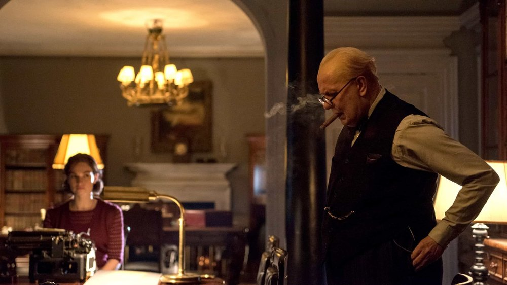 Darkest Hour (2017) - Directed by: Joe WrightWritten by: Anthony McCarten
