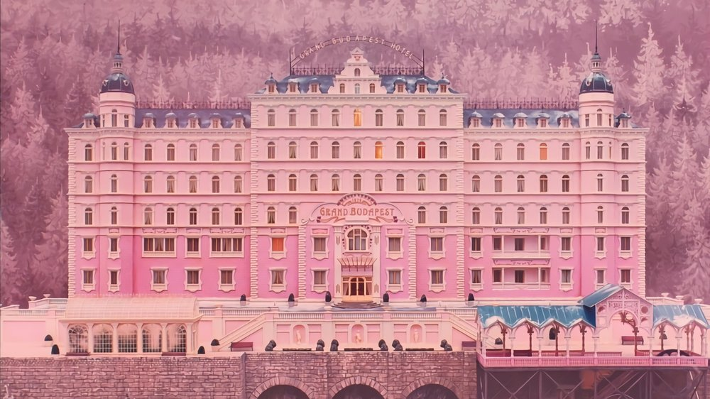 The Grand Budapest Hotel (2014) - Directed by: Wes AndersonWritten by: Wes Anderson