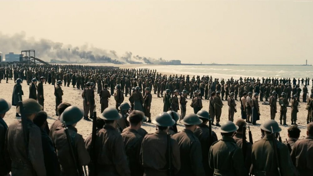 Dunkirk (2017) - Directed by: Christopher NolanWritten by: Christopher Nolan