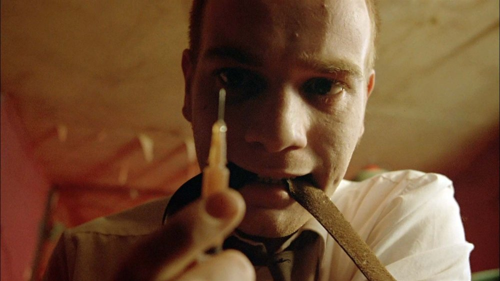 Trainspotting (1996) - Directed by: Danny BoyleWritten by: John Hodge & Irvine Welsh (novel)