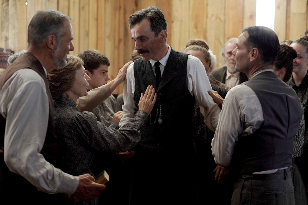 There Will Be Blood (2008) - Directed by: Paul Thomas AndersonWritten by: Paul Thomas Anderson