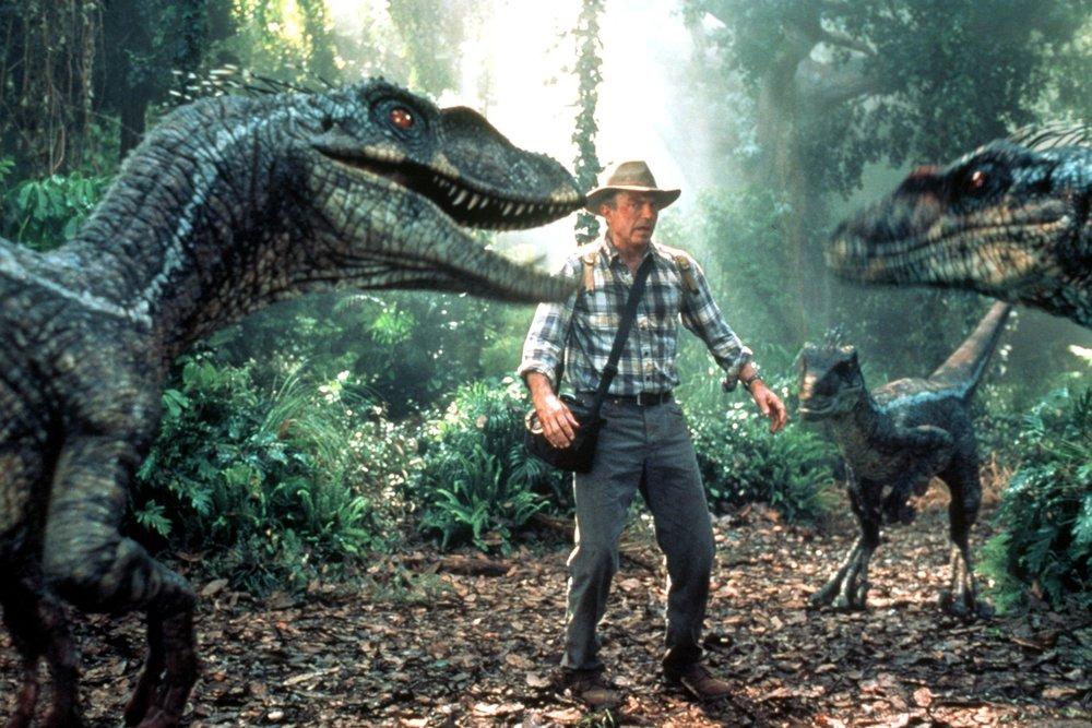 Jurassic Park (1993) - Directed by: Steven SpielbergWritten by: Michael Crichton & David Keopp